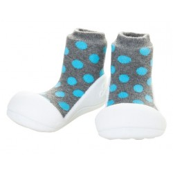 Tinker Toddler Attipas Polka Dot Grey
