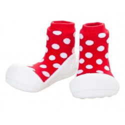 Tinker Toddler Attipas Polka Dot (Red)
