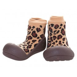 Tinker Toddler Attipas Animal Leopard Brown
