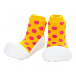 Tinker Toddler Attipas Polka Dot Yellow