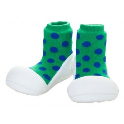 Tinker Toddler Attipas Polka Dot Green