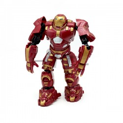 Warrior Transform Building Blocks Action Figure - Red