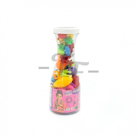 Toys Funtastic Creative Pop Beads In Pvc Bottle