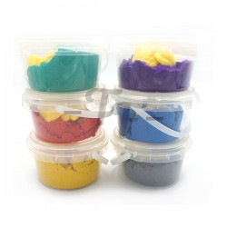 Toys Funtastic Twinkle Gold Powder Play Sand In Barrel With 4 Moulds - Asstd