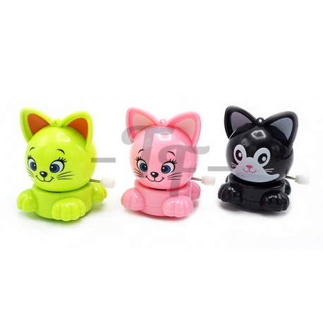 Toys Funtastic Lovely Rotary Cat Wind-Up Toys -Black