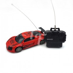Toys Funtastic Mini Four-Way Rc(Remote Control) Audi Sport Car-Red