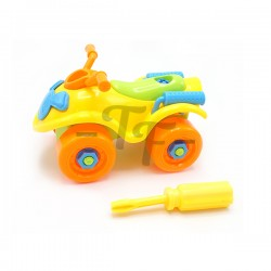 Toys Funtastic Educational Engineering  Assemble Disassemble Motorcar