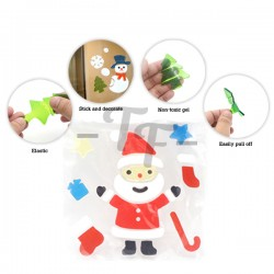 Toys Funtastic Removable Soft Silicon Decorative Window Stickers