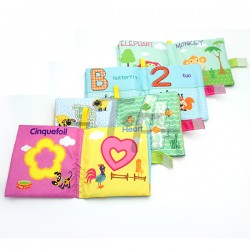 Toys Funtastic Soft Book - Learning With Shape