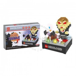Toys Funtastic  DIY Nano Blocks With Light & Music, Vampire, Halloween Series (349 pcs)
