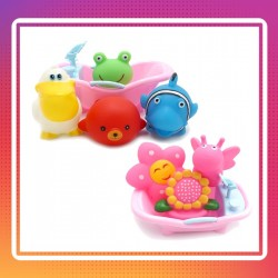 Onniso Special Promotion - Baby Bath Tub Toy - Set of 2 Assorted