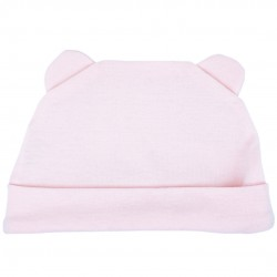 Trendyvalley Organic Cotton Baby Hat (Pink)