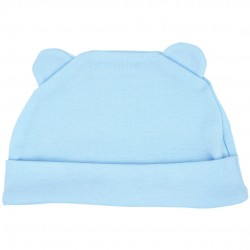 Trendyvalley Organic Cotton Baby Hat (Blue)