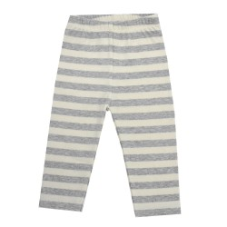 Trendyvalley Organic Cotton Baby Long Pants (Grey)