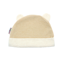 Trendyvalley Organic Cotton Baby Hat (Brown)