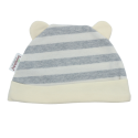 Trendyvalley Organic Cotton Baby Hat (Grey Lines)