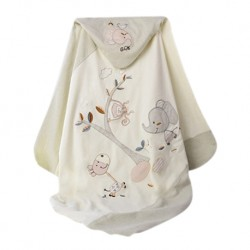 Trendyvalley Organic Cotton Baby Wrapper and Organic Blanket (80cm x 80cm)