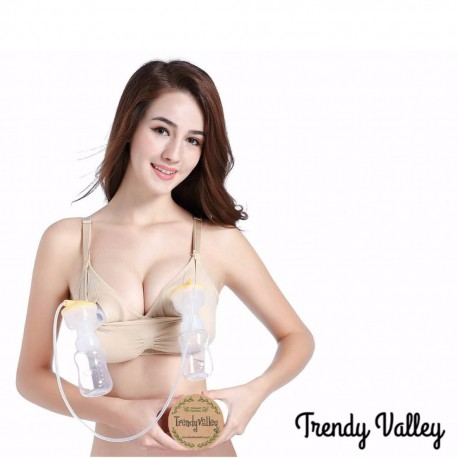 Trendyvalley Handsfree Bra Seamless Nursing Bra / Maternity Breastfeeding Bra