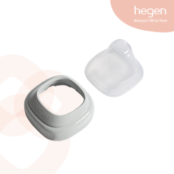 Hegen PCTO Collar and Transparent Cover (Grey)
