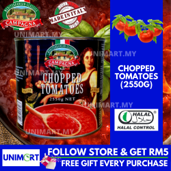 UNIMART Campagna Chopped Tomatoes (2.55kg)
