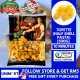 UNIMART Campagna Tofette Half Shell Pasta (500gram) (Cooking Time : 10 Minutes)