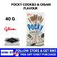 UNIMART Pocky Cookies and Cream Flavour 40g Biscuits Sticks