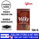 UNIMART Pocky Festive Tin Double Chocolate 156g Sticks Biscuits