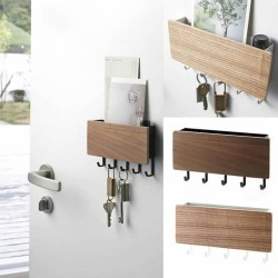 Wall-hung Type Wooden Decorative Wall Shelf (VIP Branded)