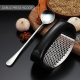 WORTHBUY Stainless Steel Garlic Press Manual Garlic Grinder Grater Ginger Press Kitchen Accessories Garlic Chopper Crusher