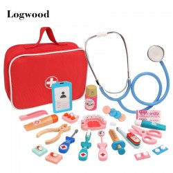Wooden Pretend Play Doctor Set (VIP Branded)