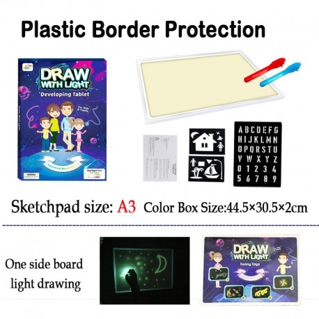Drawing Tablet Board with Light (VIP Branded)