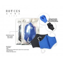 Rowces Fiber Cotton Adult Mask