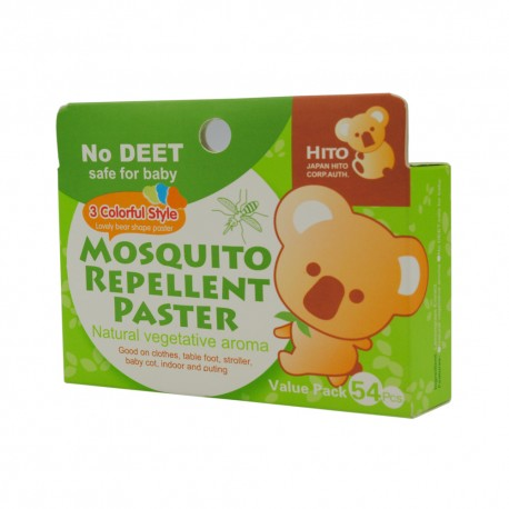 Hito Natural Herbal Mosquito Patch 54'