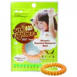 Bite Fighter Organic Mosquito Repellent Band, 3pcs