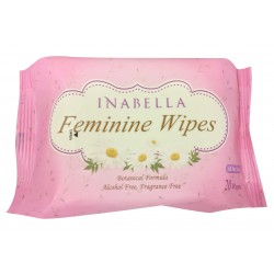 Inabella Feminine Wipes, 10packs