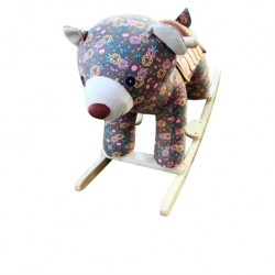 Woodalion Grizzy Bear Infant Rocker