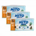 Hito Ultra Thin Baby Diapers, NB/S 40', 3packs / bundle