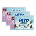 Hito Ultra Thin Baby Diapers, M 36', 3packs / bundle