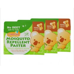 Hito Natural Herbal Mosquito Patch 18's 5boxes