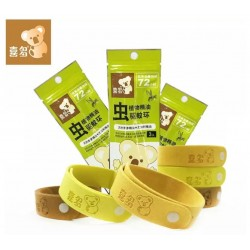 Hito Natural Herbal Mosquito Repellent Band, 3packs