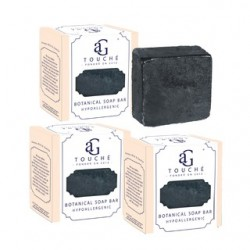 AG Touche Botanical Baby Soap Bar Bamboo Charcoal 80g 3pcs