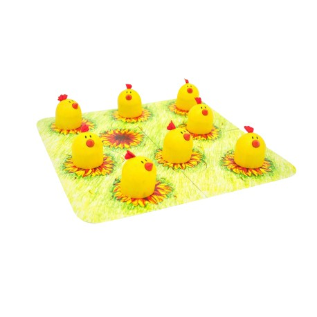 Wonder World Wooden Toys - Chicky Memory Game (A 1014-WG)