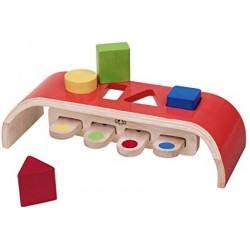Wonder World Wooden Toys - Bouncing Sorter (A 3017-WED)
