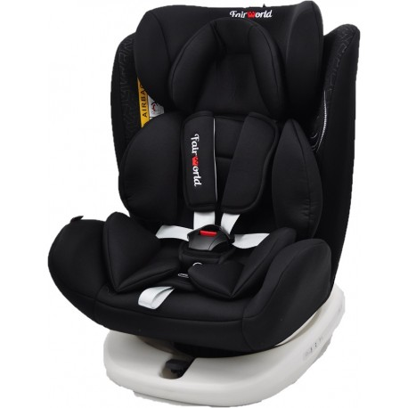 FairWorld Rotating with Isofix Baby Car Seat (BC 916K/ISO-LB/BK)