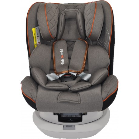 FairWorld Rotating with Isofix Baby Carseat (BC 62S/ISO/SIPS-BR)