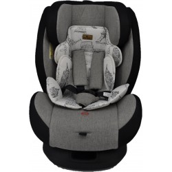 FairWorld Baby Carseat (Grey) BC 5Q-CAR/LB