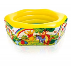 Intex (75 x 70 x 24 Inch) Winnie The Pooh Deluxe Pool