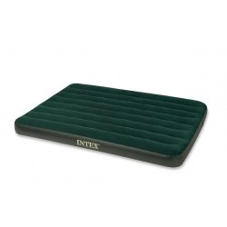 Intex Full Prestige Downy Airbed With Battery Pump