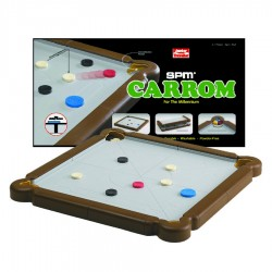 SPM Games Carrom Junior Traveller- Brown (M SPM 172)