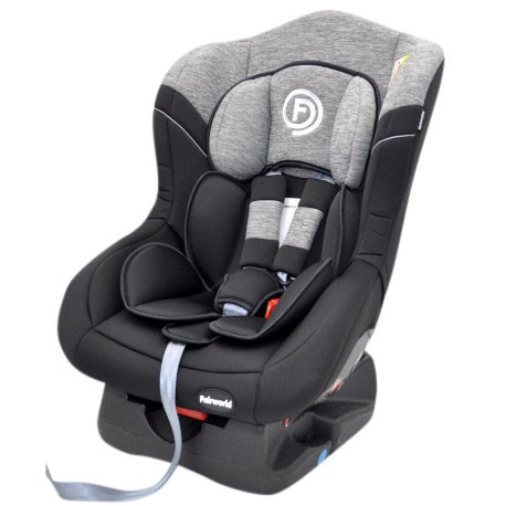 FairWorld Baby Car Seat (Grey/Black) BC 211-LB/BB